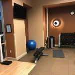 Small, limited fitness area