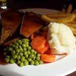 Steak and ale pie. Absolutely amazing.