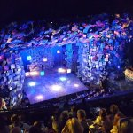 Opening view of stage - Matilda