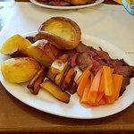 Roast beef dinner.