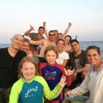 Sunset boat trip with the Tortuga Verde crew