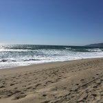 Schöner großer Strand