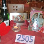 Our Table on Valentines Night