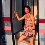 Great train ride (first time!) from Chiang Mai to BKK. :)