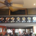 A display of Willie's albums in Charleys.