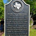 Rusk, TX Footbridge