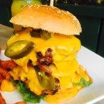 Saftige Burger und verschieden Tagesgerichte....