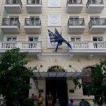 Hera Hotel entrance