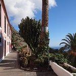 Terrasse vor dem Hotel