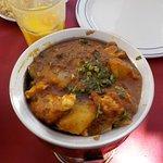 chicken and potato balti