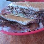 Cuban sandwich at El Ambia Cubano in Melbourne FL