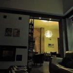 Vista de la sala de estar
