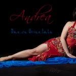 Andrea Belly dance show at Menthe et Couscous
