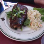 Baby Back BBQ Ribs & Coleslaw