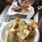Carne Asada Quesadilla and Machaca Tacos --Eat Mexican Food!
