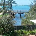 View from room Sails Resort to Pumistone Passage Caloundra Qld