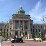 Photo of Indiana State Capitol