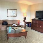 Sitting room of the executive suite
