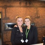 Receptionists of the hotel