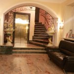 Hotel Dell'Angelo - view from the entrance, reception