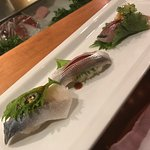 Great premium quality sushi with Real Japanese sushi chef with a HOT scene in Santa Monica was B