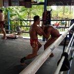 Photo de Muay Thai Chinnarach Boxing Camp