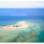 Aerial view from my husband's drone (he had special permission from the Fijian government to fly
