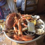 plateau fruits de mer.