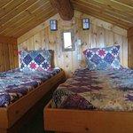 Columbine Cabin loft beds