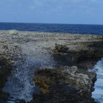 AN EXAMPLE OF WIND & SALT WATER CROSION
