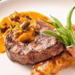 CHARCOAL GRILLED FILLET MIGNON TOPPEDE W