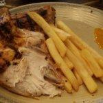 1/2 Roast Chicken, Chips