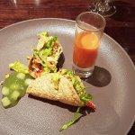 Crab & Crayfish Taco - starter