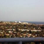 view from terrace over maspalomas dunes, beautiful