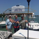 Great day of fishing with Captain Bob and Bobby.