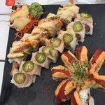 Sushi rolls: Bubba Gump, Jaguar, Error in Judgement