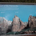 Court of the Patriarchs - sign