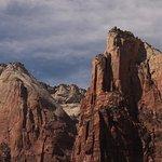 Closeup of Moses and Isaac peaks