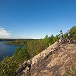 Enjoy the view...Just up the road from us at Lake Laurentian