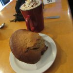 Hot Chocolate with Muffin