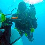 Got my diving Buddy on camera :)