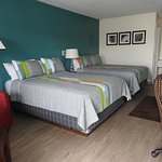 Newly remodeled two Queen bedrooms