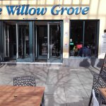 The Willow Grove frontage