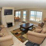 Seabreeze condos - living area