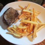 Sirloin with fries
