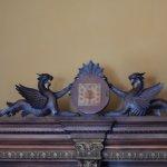 Mahogany woodwork