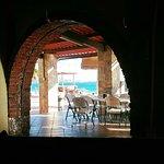 View from the restaurant next door