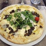 pizza aux truffes