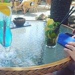 Blue Lagoon and Mojito