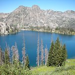 Gilpin Lake in the Zirkel Wilderness nearby